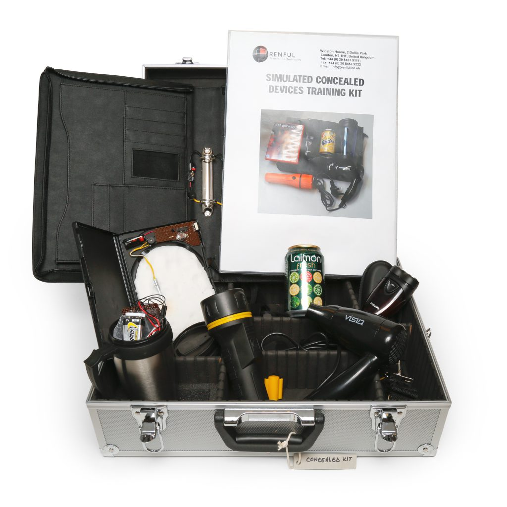 concealed devices SIMULATION training kit
