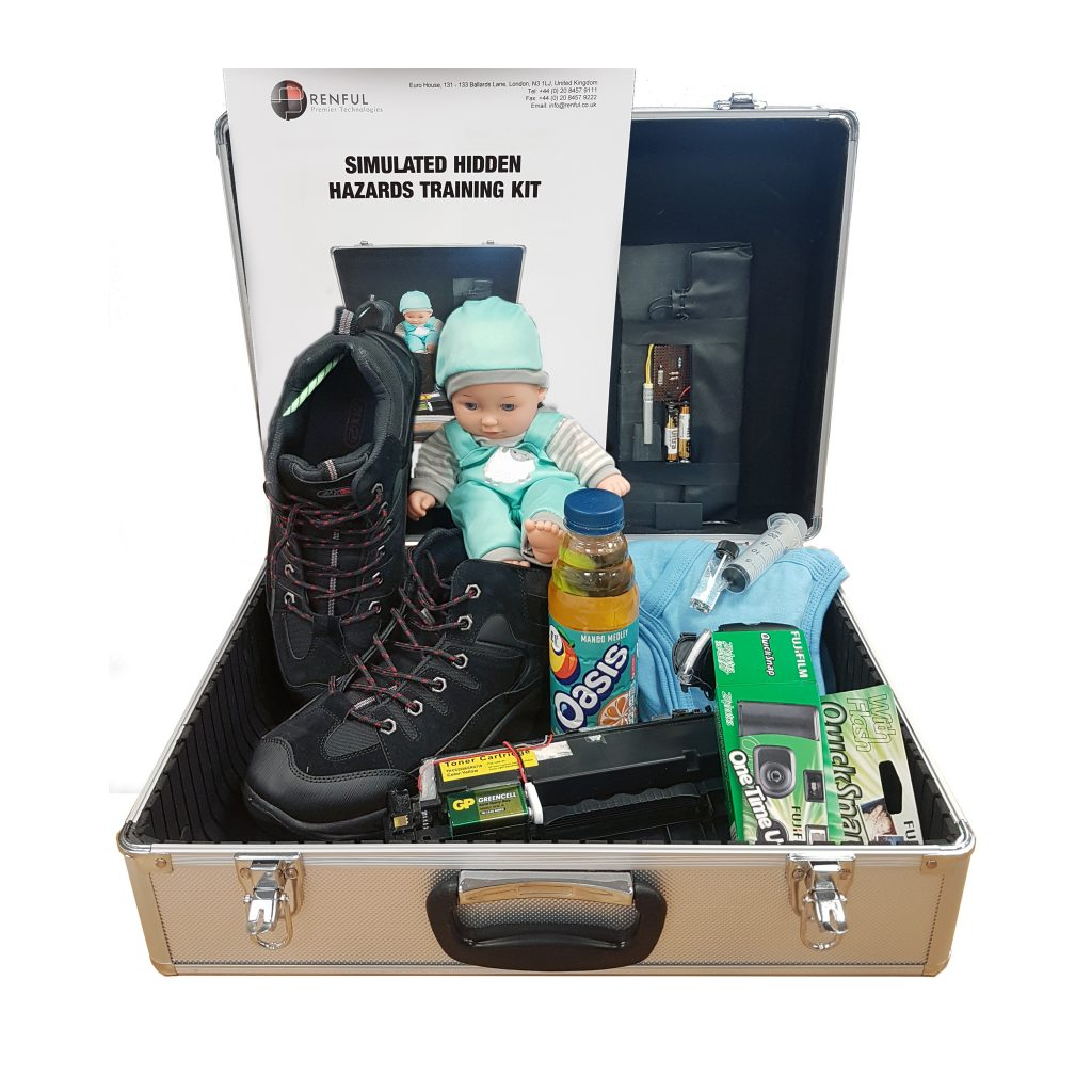 hidden hazard SIMULANT training kit