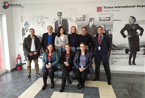 Simfox training tirana airport