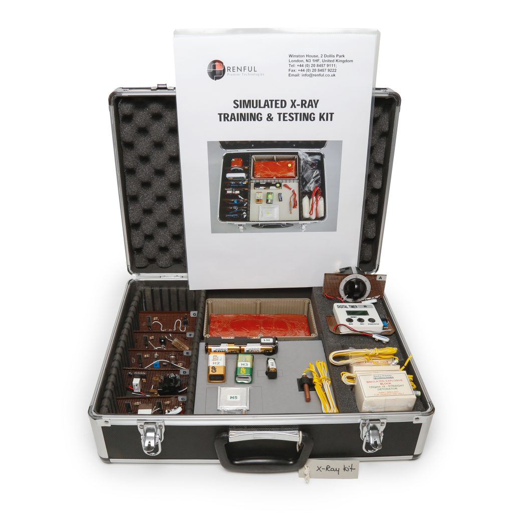 xray simulant training kit